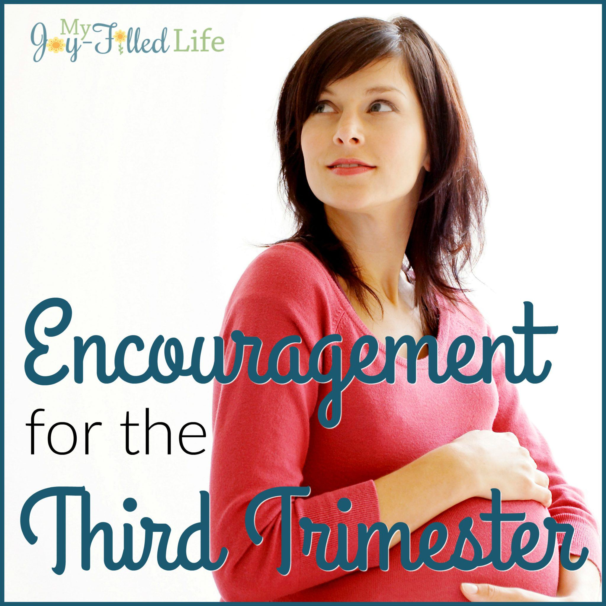 Encouragement for the Third Trimester